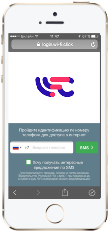 Wi-Fi-идентификация пользователей