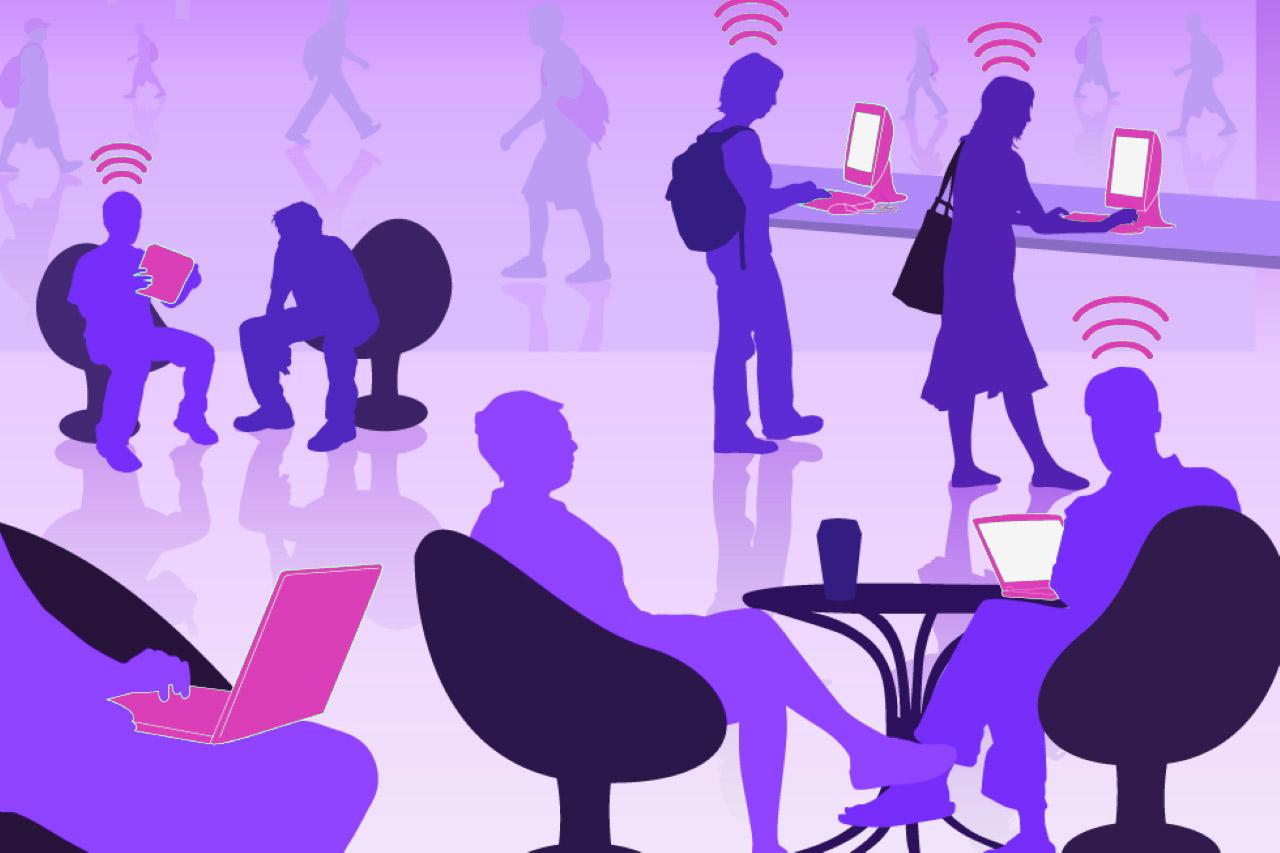 Услуги подключения общественного Wi-Fi